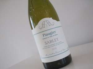 Sablet Blanc 2010