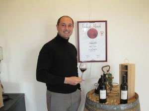 Chateau la Verrerie 2010 præsenteres af vinmageren.