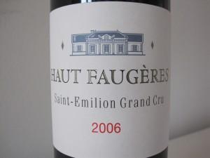 Haut Faugéres 2006